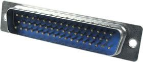 DB-50M, вилка D-SUB 50 pin пайка на кабель