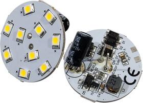 """AR-G4BP-10E30-12V WHITE, Лампа G4 """"таблетка,Св,диоды 10шт smd2835"""