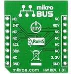 Фото 3/3 MIKROE-1386, Compass click, Компас форм-фактора mikroBUS