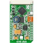 MIKROE-1430, EVE Click, Контроллер для дисплеев форм-фактора ...
