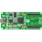 MIKROE-1433, click USB adapter, Плата адаптера USB- mikroBUS