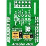 MIKROE-1432, Adapter click, Адаптер IDC10-mikroBUS