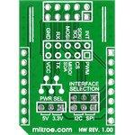 Фото 3/3 MIKROE-1432, Adapter click, Адаптер IDC10-mikroBUS