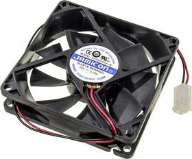 KF0820S1H-R, вентилятор 12В 80х80х20 мм подшипник скольжения