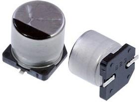 Фото 1/4 EEETG1J101UP, электролитический конденсатор SMD 100мкФ, 63В 10x10.2