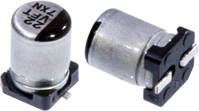 Фото 1/3 EEEFT1V220AR, электролитический конденсатор SMD 22мкФ, 35В 4x5.8