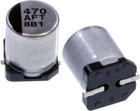 Фото 1/4 EEEFTA471XAP, электролитический конденсатор SMD 470мкФ, 10В 6.3x7.7