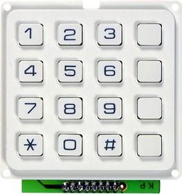 TF-0286W-1 4x4/60x57, Тел.клавиатура