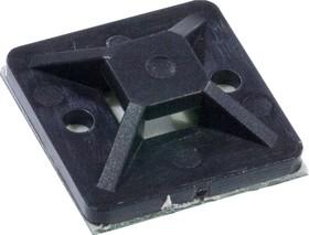 ПМС25*25 (ч), Площадки монтажные самоклеющиеся черные