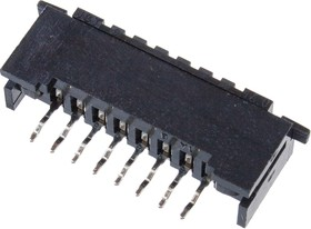08FDZ-BT-BHL(S)(LF)(SN), ZIF розетка на плату 2.54мм 8конт. прямая