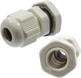 PG9, Кабельный ввод (сальник) серый 4-8 мм