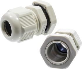 PG13.5, Кабельный ввод (сальник) серый 6-12 мм (PGB13.5)