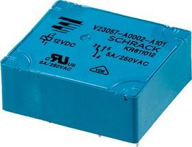 0-1393215-4, V23057-A002-A1014, реле 1 Form C 12В 8A/250В