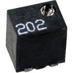WIBC1801(3224)W-202, 3224W-202LF, 2 кОм 11 обор. потенциометр