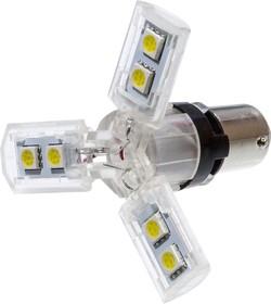 LED-L0935 White BAY15D 12V, Автолампа белая