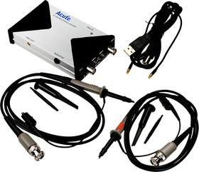 TS-2202Е, осциллограф цифровой приставка 2 кан. 200MГц 1Гв/с 10Kб/кан