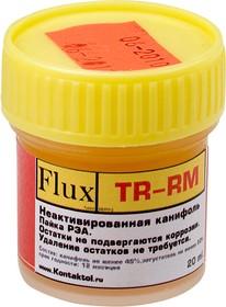 FLUX TR-RM 20МЛ, Паста паяльная0мл, пайка РЭА