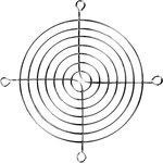 JL-110, решетка для вентилятора 110х110мм