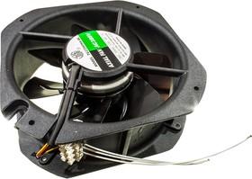 TG22580HA3BL-7P, вентилятор 380В 225х225х80мм подшипник качения провода