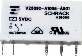1-1415068-1, V23092-A1005-A801реле 1-Form-C,SPST-CO,1NO 5VDC/6A