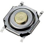 IT-1187-160GM-G, кнопка тактовая 5.2х5.2 SMD h=1.5мм (аналог ...