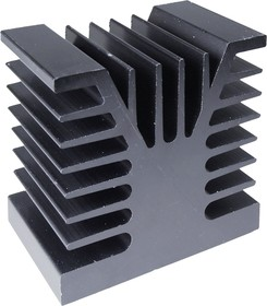HS 155-50, радиатор алюминиевый 50x80x80
