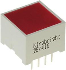 DE/4SRD, светодиодная полоса красная 15х15мм 300мКд