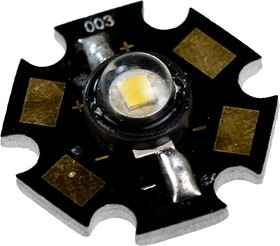 ARPL-STAR-0.5W, светодиод SMD белый теплый 14-30Лм 0.5Вт 120гр