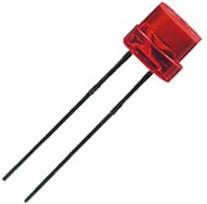 L-433IDT, светодиод красный d=5мм 8мКд