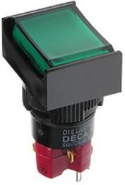 D16LMT2-1ABOG, Переключатель кнопочный без фиксации 250В/5А