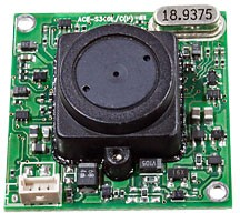ACE-S340CHP, чб,420 ТВ лин,f3.7, 1лк видеокам.
