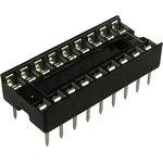 Фото 2/2 SCS-18 (DS1009-18AN), DIP панель 18 контактов узкая