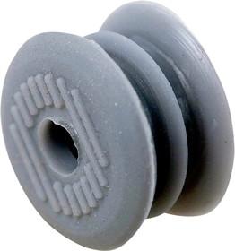 TE-178 017, Фиксатор для провода, dвнеш.=1.20мм, dвнут.=0.80мм, серый