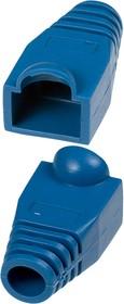 XYA055 BLUE, Колпачок на разъем RJ45 синий