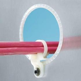LHMS-S10-D, Cable Accessories Tie Mount Nylon 6/6 Natural Bulk