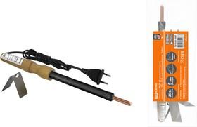 """Паяльник ЭПЦН-25, деревянная ручка, мощность 25 Вт, 230 В, подставка в комплекте, """"Рубин"""" TDM"""