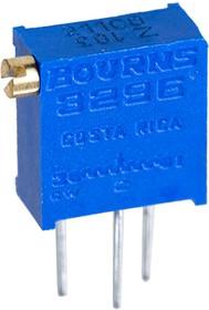 Фото 1/5 3296Z-1-103LF, 10 кОм подстроечный резистор