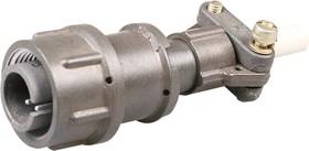 Фото 1/2 2РМТ14КПН4Ш1В1В, Вилка на кабель с прямым патрубком для неэкранированного кабеля