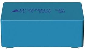 B32774D4106K000, 10 мкФ, 450 В, 10% MKP BOXED, Конденсатор металлоплёночный