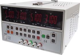 HY3005M-2, лабораторный блок питания 0-30В/5Ax2