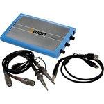 VDS2062, осциллограф-приставка к ПК 2кан 60МГц 500Мв/с