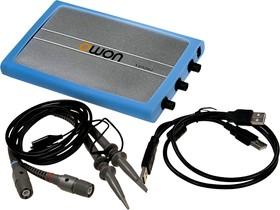 VDS2062, осциллограф цифровой приставка к ПК 2кан 60МГц 500Мв/с