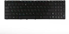 Клавиатура для ноутбука Asus K52, K52F, K52DE, K53S, X61, N61, G51, UL50, G60, с, рамкой, чёрная