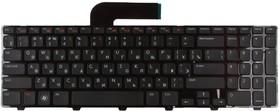Клавиатура для ноутбука Dell Inspiron 15R, N5110, N, 5110, с, рамкой, чёрная