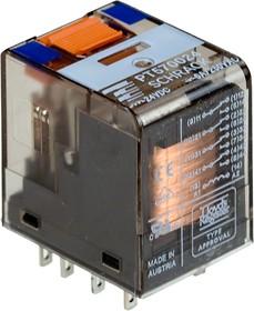 Фото 1/2 1-1393154-2 (PT570024), Реле 4-Form-C, 4PDT, 4CO 24VDC/6A(240VA) моностабильное