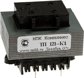 ТП121-К1, Трансформатор, 2х6В, 0.4А