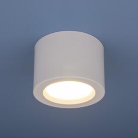Фото 1/3 DLR026 6W 4200K / Светильник светодиодный стационарный белый матовый