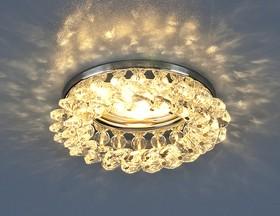 Фото 1/3 206 MR16 CH/CL / Светильник встраиваемый хром/прозрачный