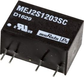 Фото 1/3 MEJ2S1203SC, DC/DC TH 2Вт 12-3В Single 5.2кВ