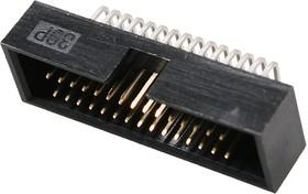 BH1.27-30R, вилка угловая шаг 1.27мм